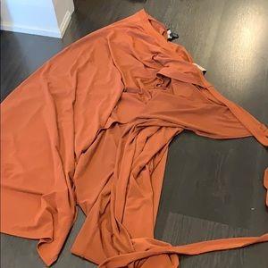 Never worn wrap skirt